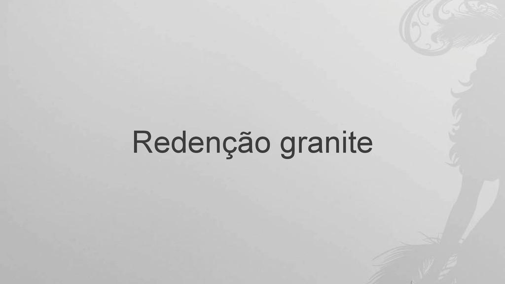 Redenção granite