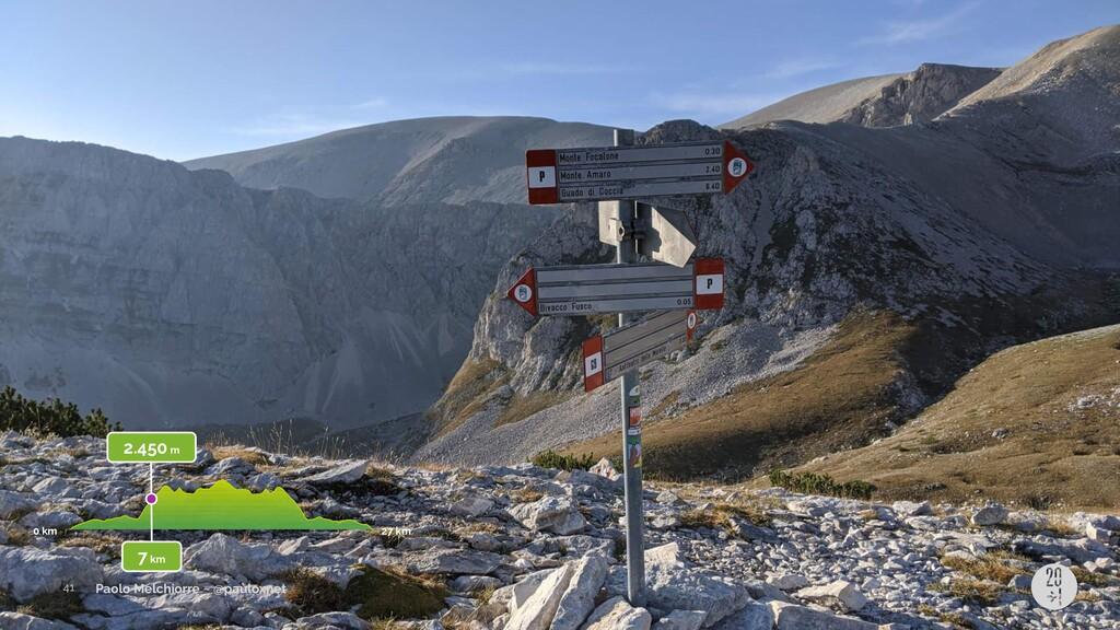 Paolo Melchiorre ~ @pauloxnet 2.450 m 0 km 27 k...