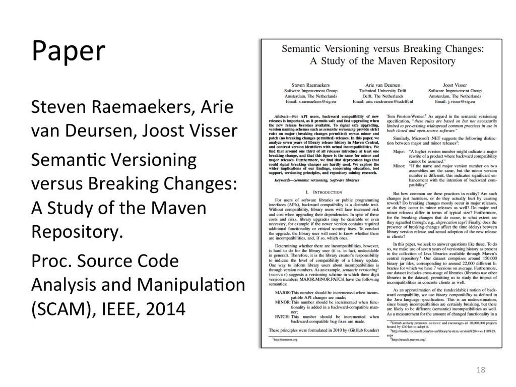 Paper  Steven Raemaekers, Arie  van...