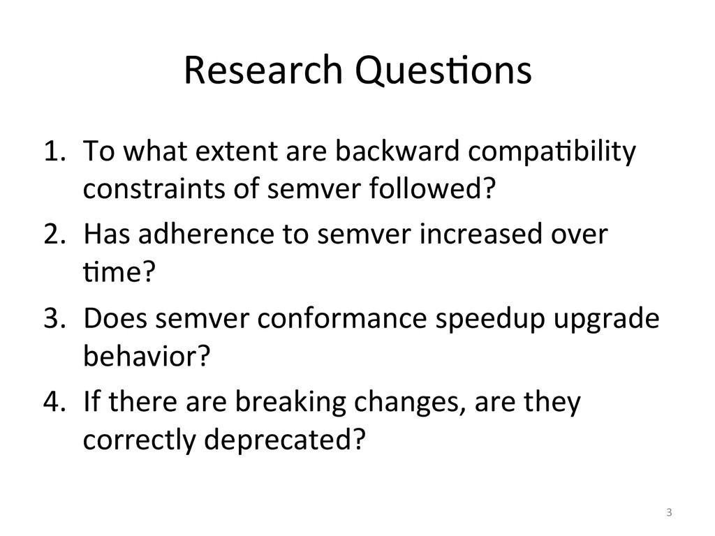 Research Ques&ons  1. To what exte...