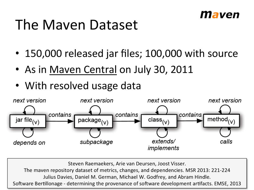 The Maven Dataset  • 150,000 relea...