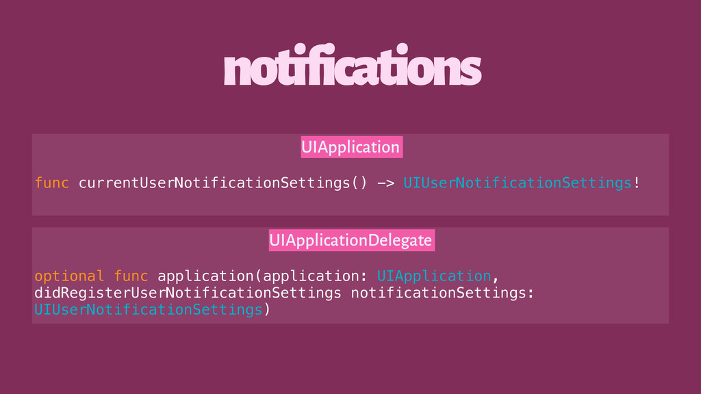 notifications UIApplication func currentUserNot...