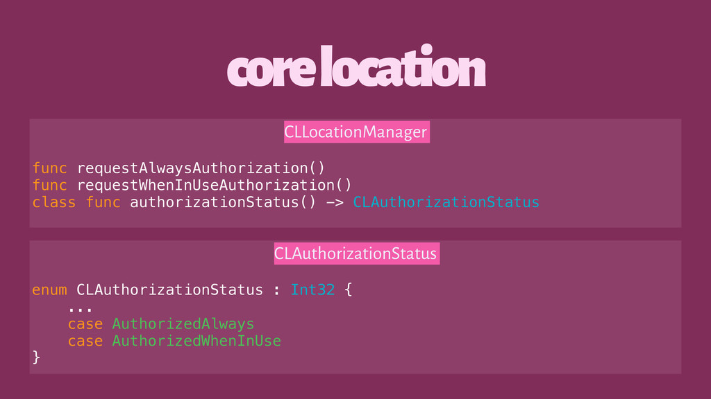 core location CLLocationManager func requestAlw...