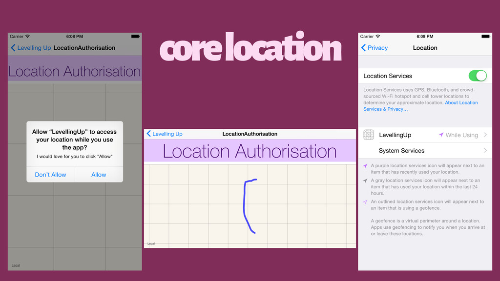 core location