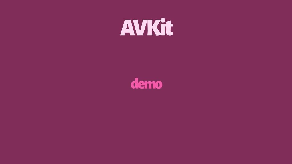 AVKit demo