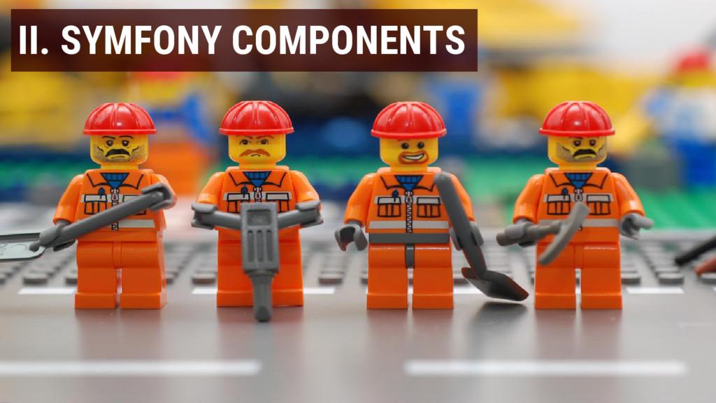II. SYMFONY COMPONENTS