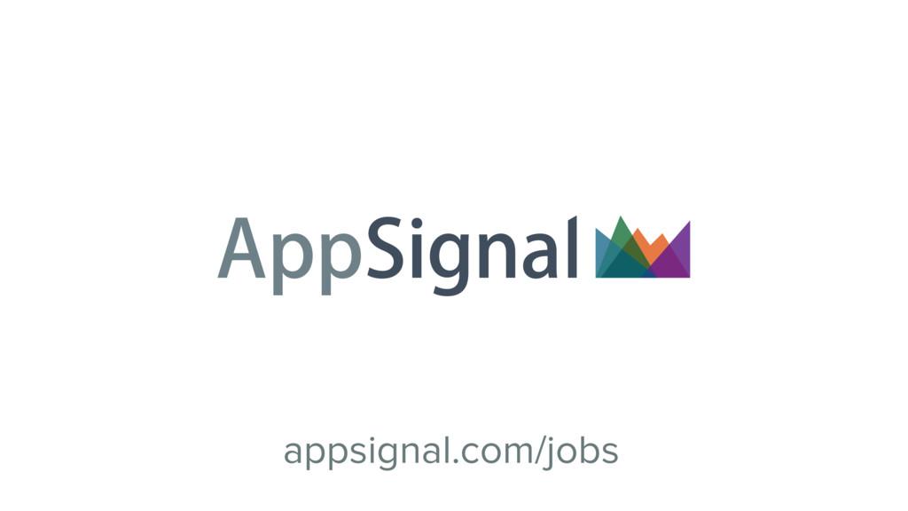 appsignal.com/jobs