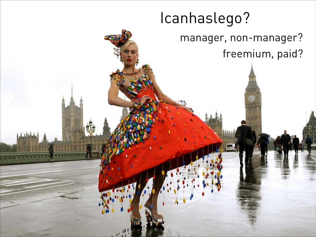 Icanhaslego? manager, non-manager? freemium, pa...