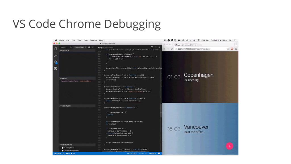 VS Code Chrome Debugging