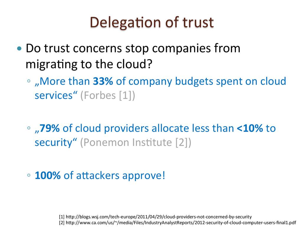 DelegaSon of trust  — Do trust ...