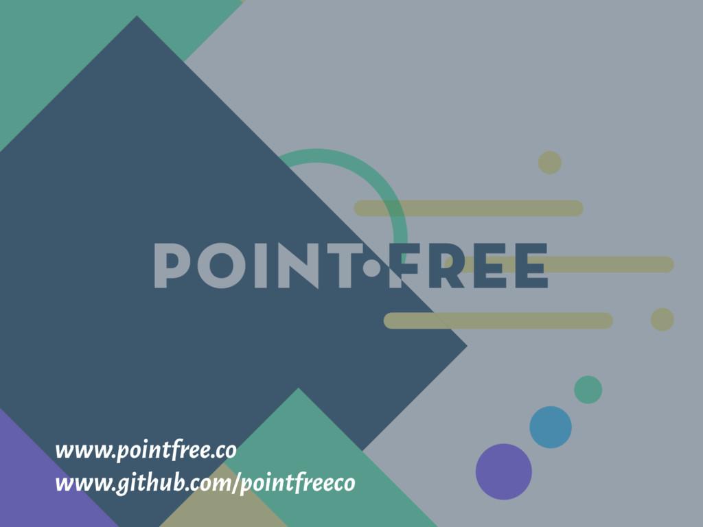 www.pointfree.co www.github.com/pointfreeco