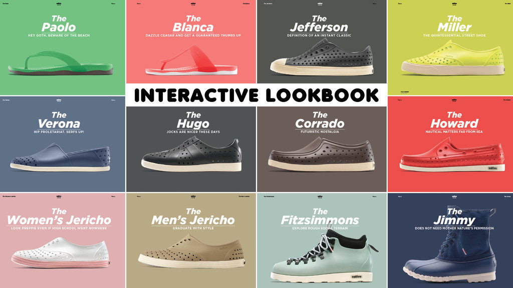 INTERACTIVE LOOKBOOK