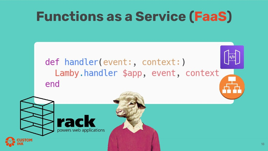Functions as a Service (FaaS) 18