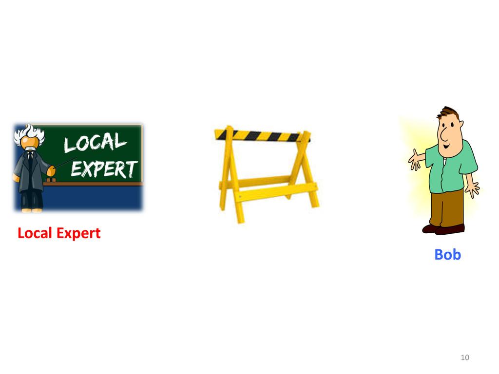 10  Bob  Local Expert