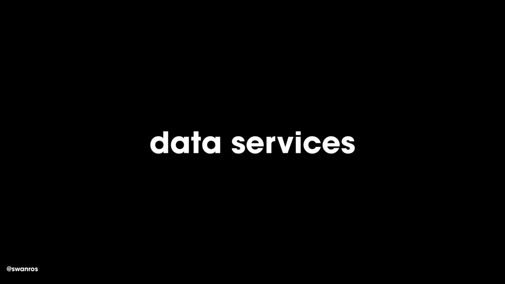 @swanros data services