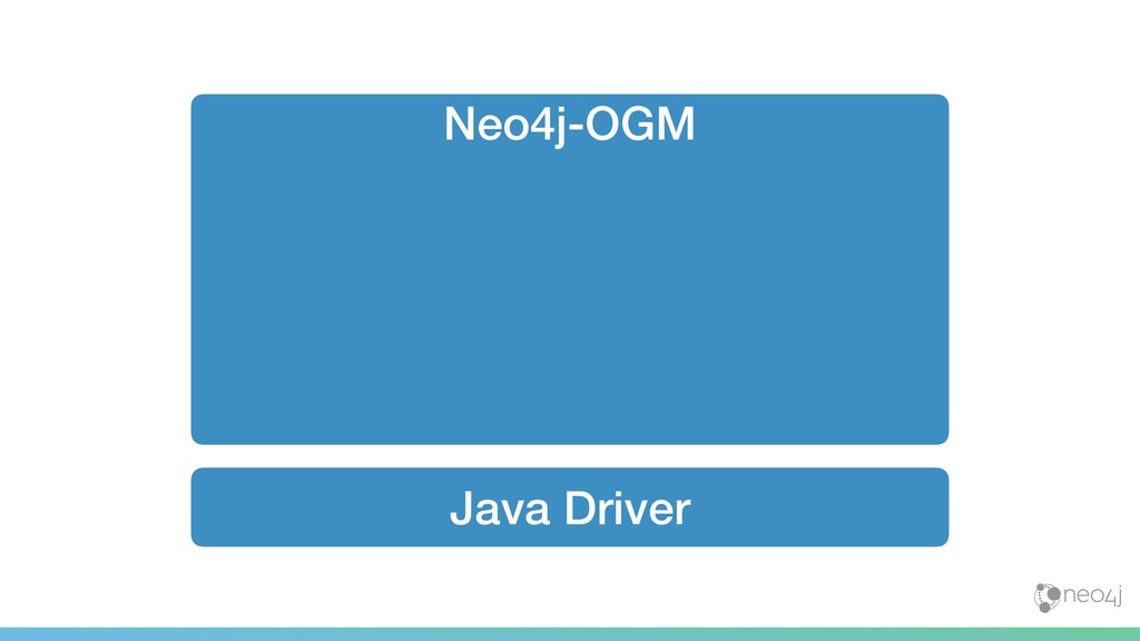 Java Driver Neo4j-OGM