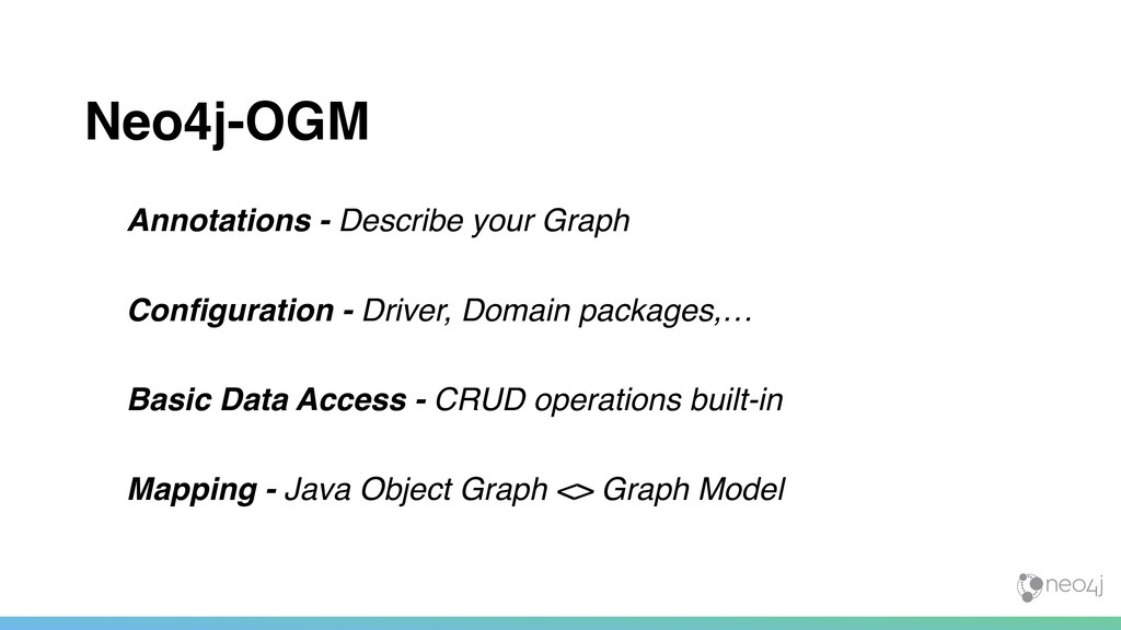 Neo4j-OGM Annotations - Describe your Graph Con...