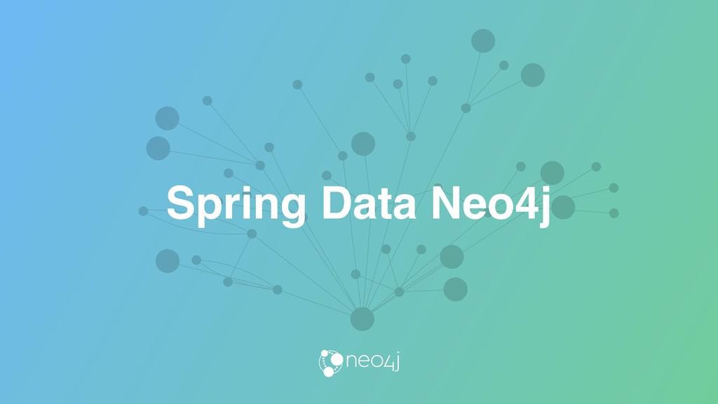 Spring Data Neo4j