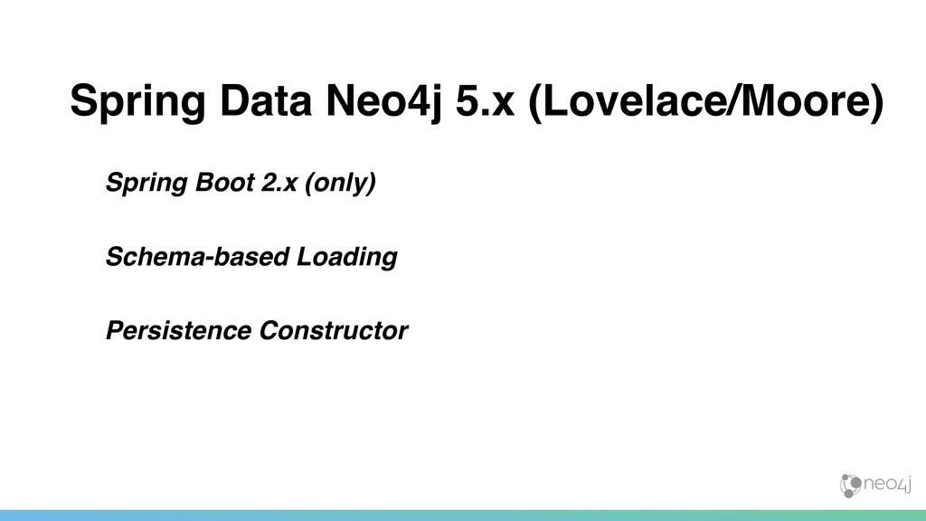 Spring Data Neo4j 5.x (Lovelace/Moore) Spring B...
