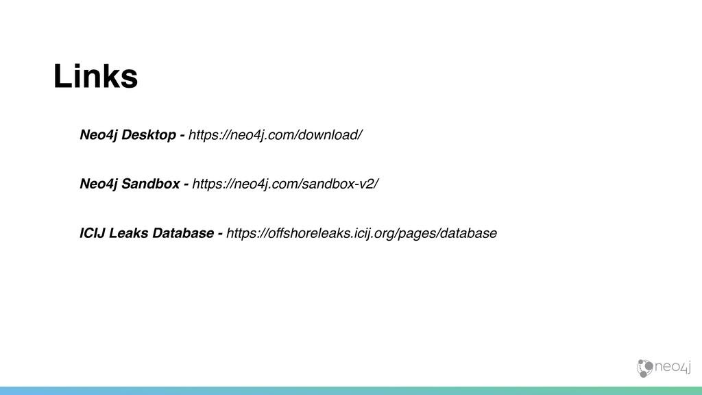 Neo4j Desktop - https://neo4j.com/download/ Neo...