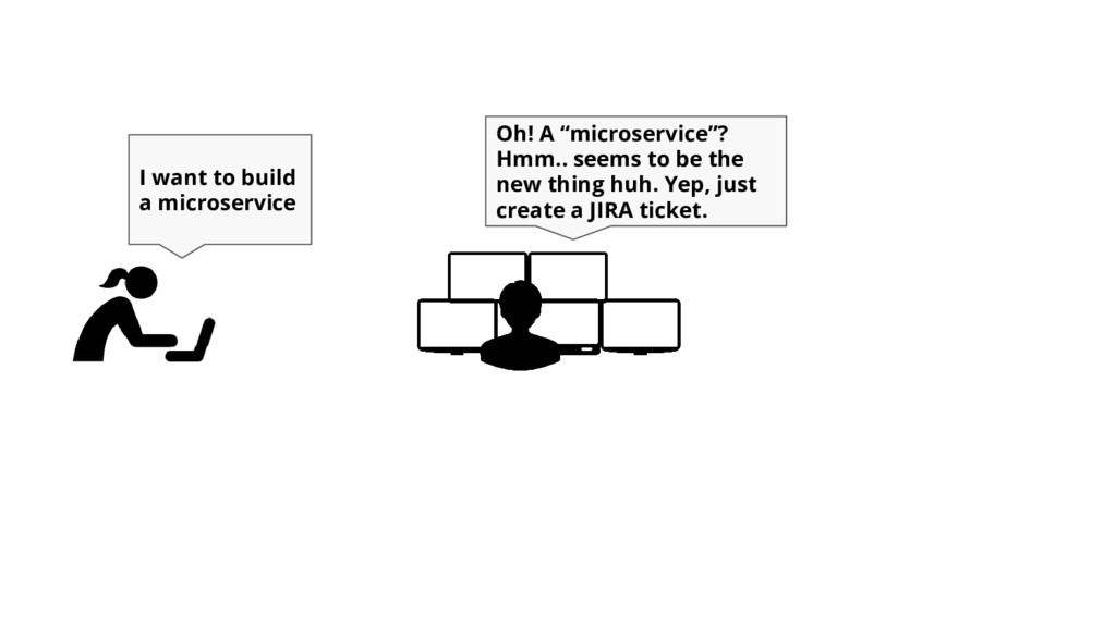 "I want to build a microservice Oh! A ""microserv..."