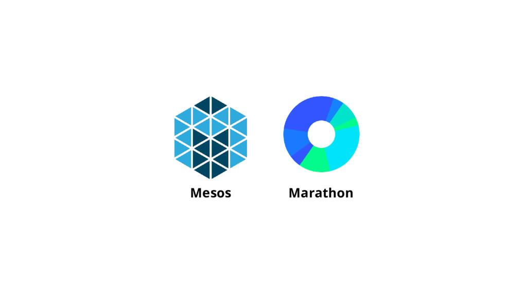 Mesos Marathon