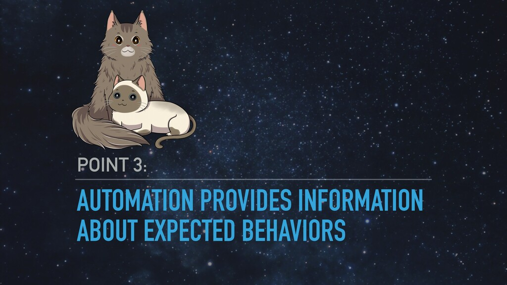 AUTOMATION PROVIDES INFORMATION ABOUT EXPECTED ...