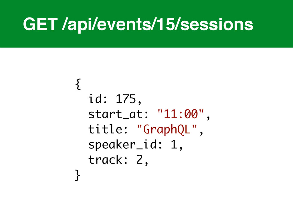 GET /api/events/15/sessions { id: 175, start_at...