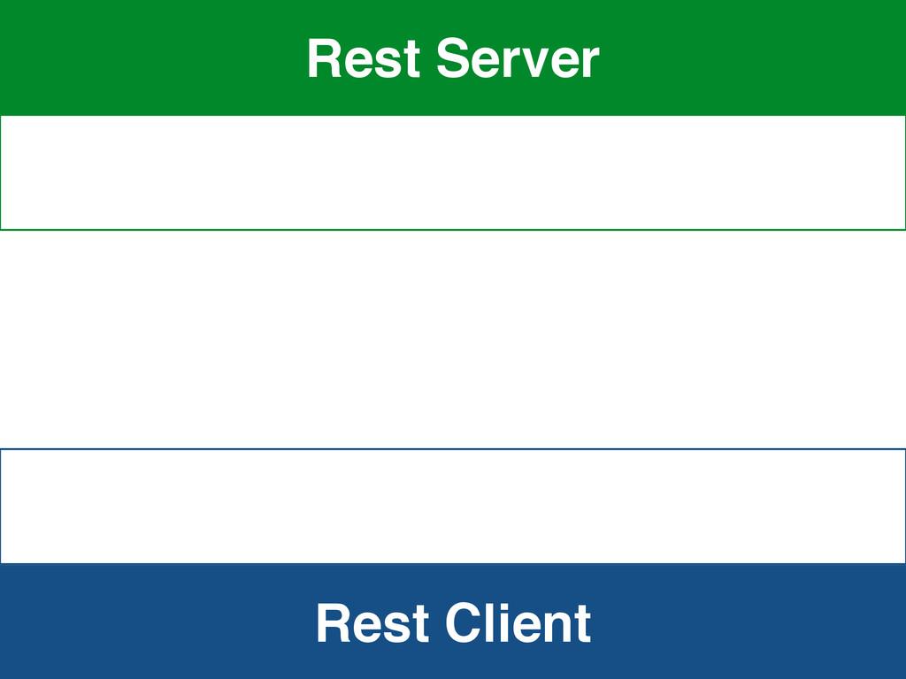 Rest Client Rest Server