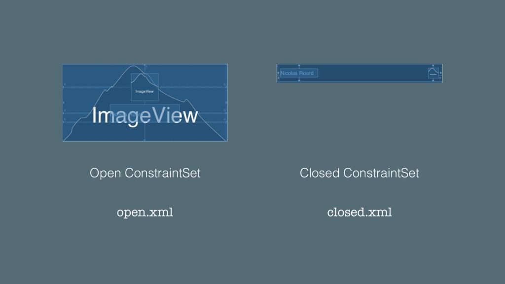 Open ConstraintSet Closed ConstraintSet open.xm...