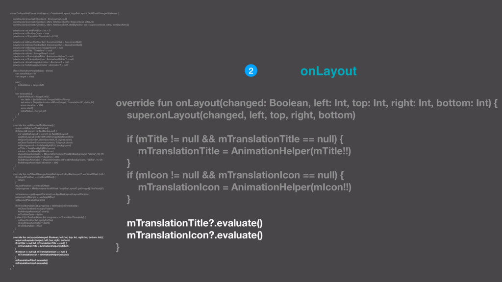 class CollapsibleConstraintLayout : ConstraintL...