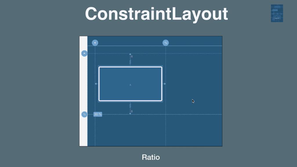 ConstraintLayout Ratio