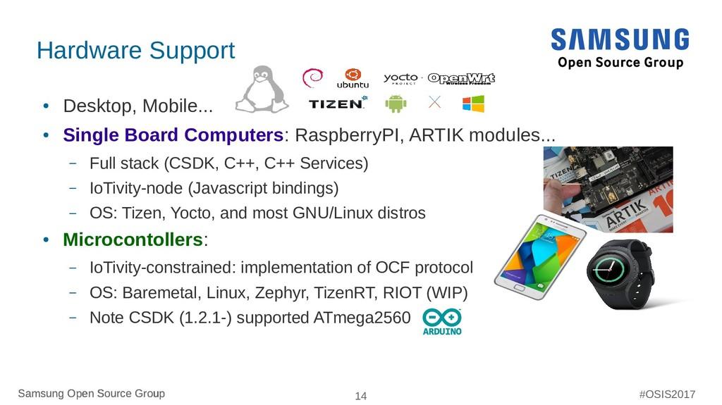 Samsung Open Source Group 14 Samsung Open Sourc...