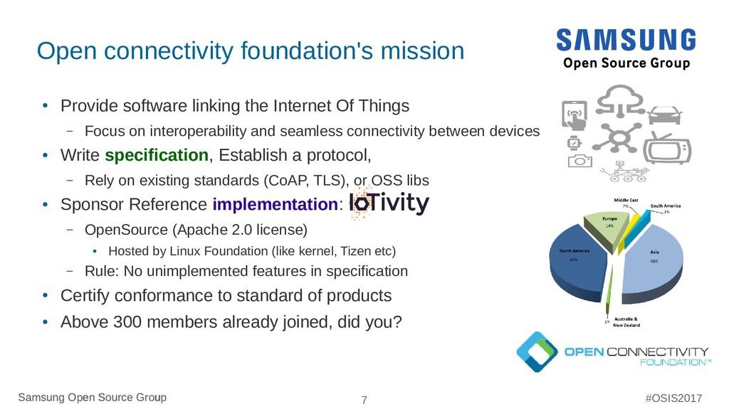 Samsung Open Source Group 7 Samsung Open Source...