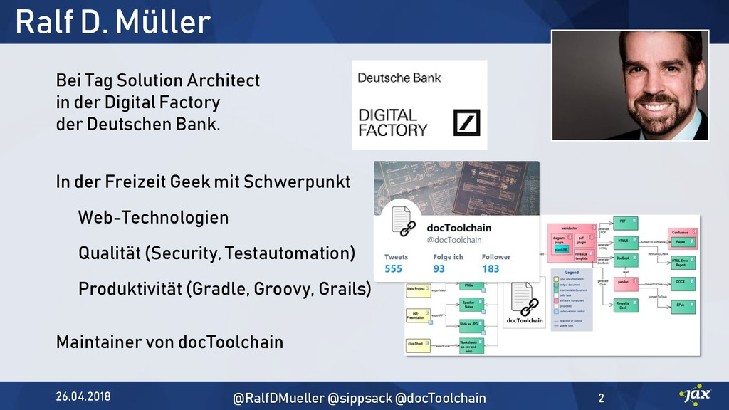 Ralf D. Müller Bei Tag Solution Architect in de...