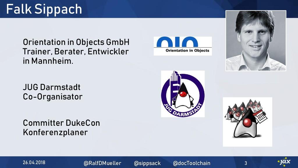 Falk Sippach Orientation in Objects GmbH Traine...