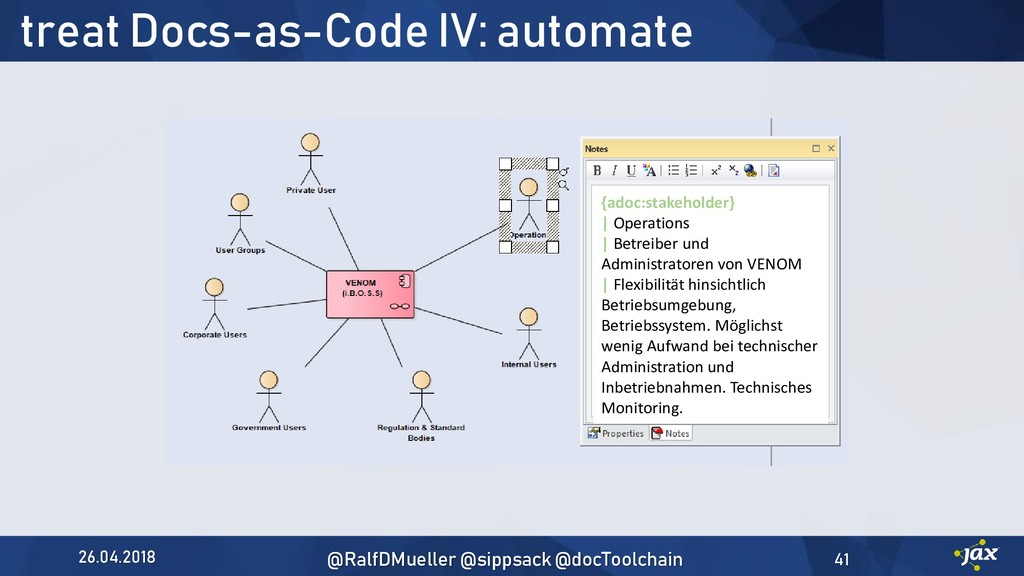 treat Docs-as-Code IV: automate {adoc:stakehold...