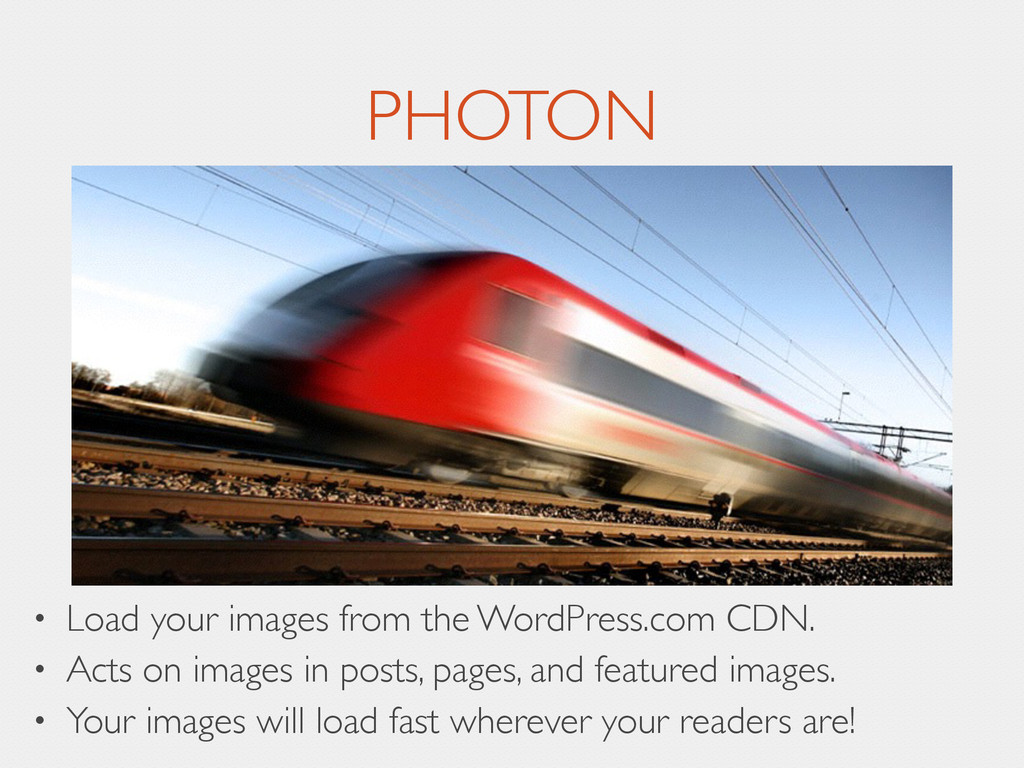 PHOTON • Load your images from the WordPress.co...