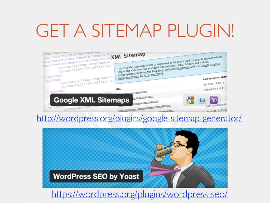 GET A SITEMAP PLUGIN! http://wordpress.org/plug...