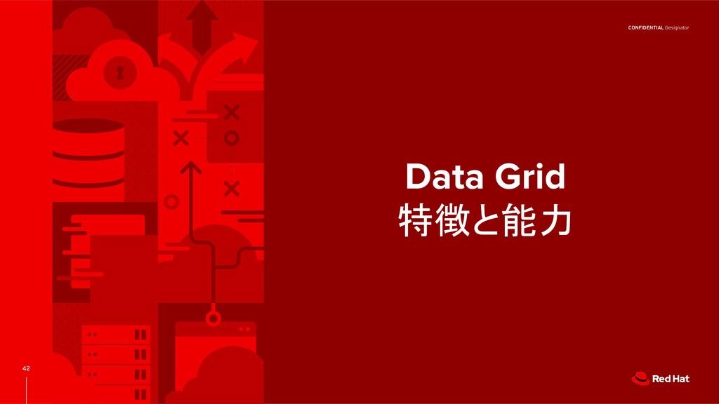 CONFIDENTIAL Designator 42 Data Grid 特徴と能力