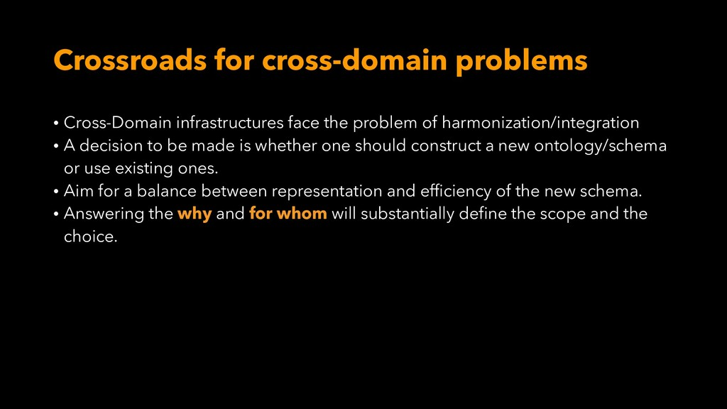 Crossroads for cross-domain problems • Cross-Do...