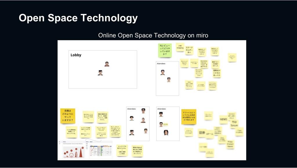 Open Space Technology Online Open Space Technol...