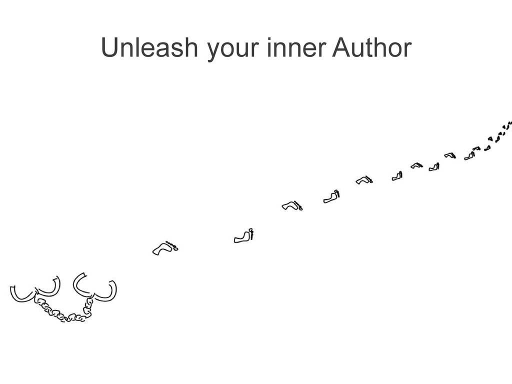 Unleash your inner Author