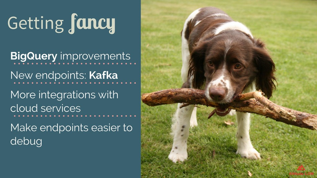 Getting fancy BigQuery improvements New endpoin...