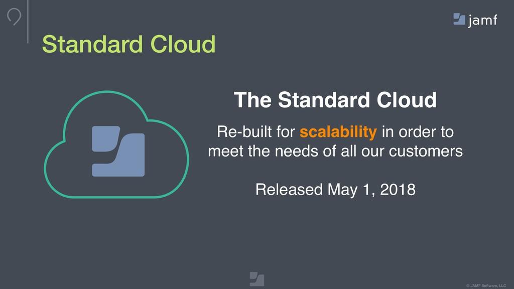 © JAMF Software, LLC Standard Cloud The Standar...
