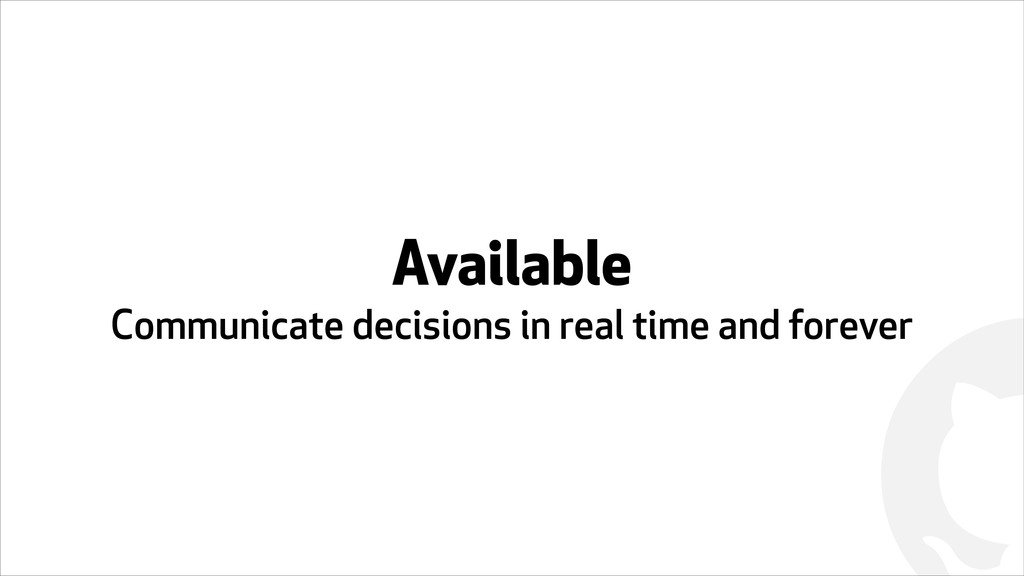 ! Available Communicate decisions in real time ...