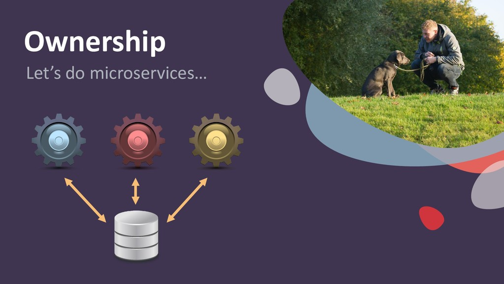 Ownership Let's do microservices…