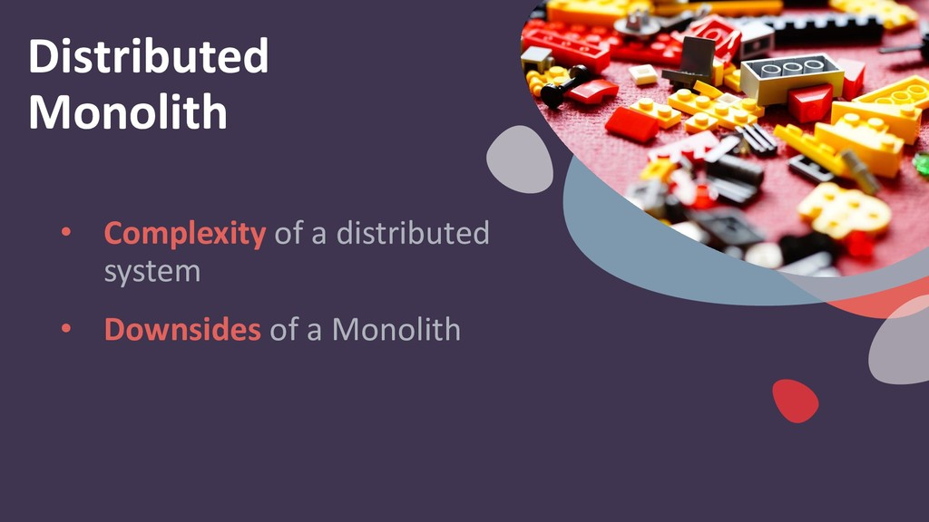 Distributed Monolith • Complexity of a distribu...