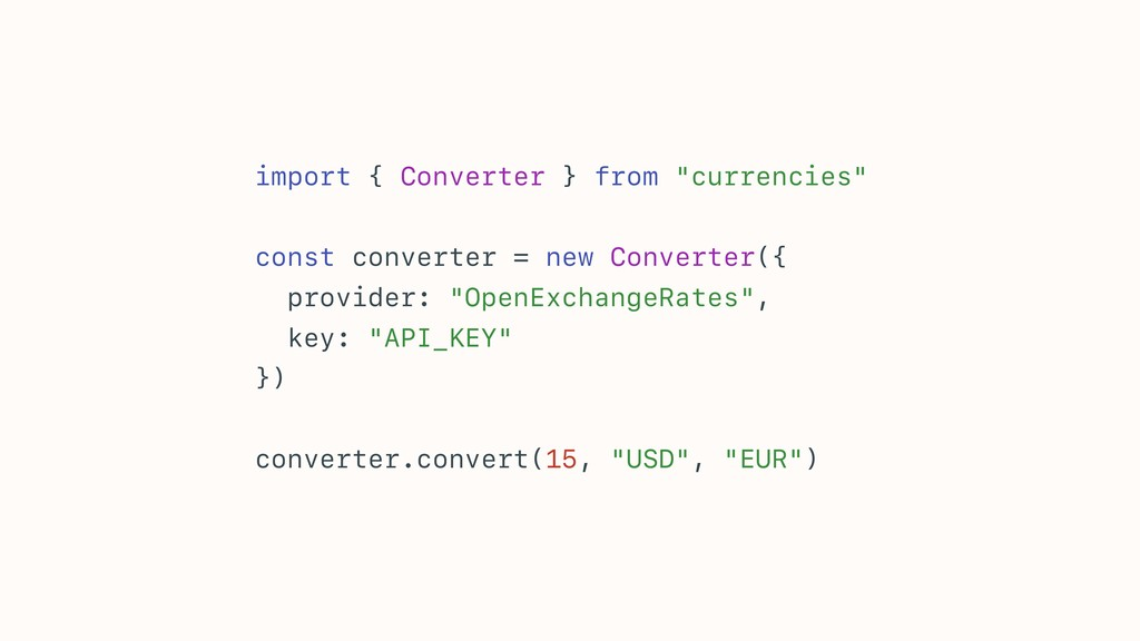 """import { Converter } from """"currencies"""" const co..."""