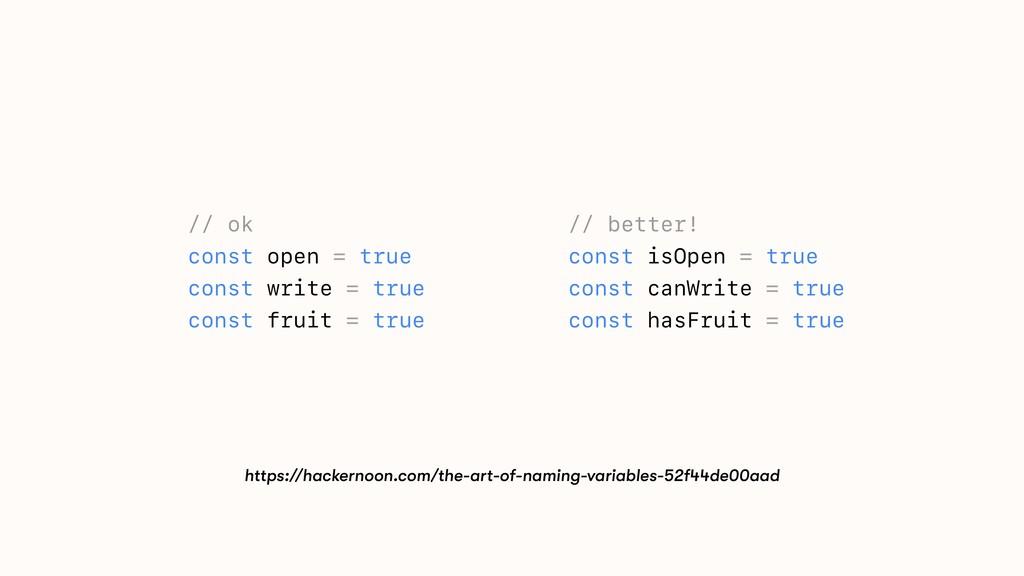 // ok const open = true const write = true cons...